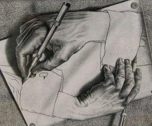 hand draw hand