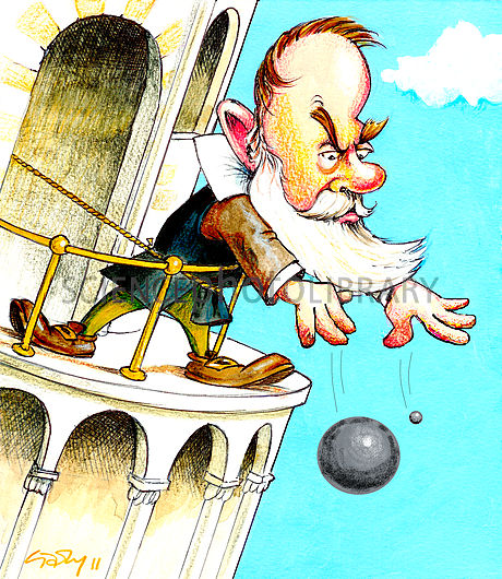 Galileo's falling bodies experiment