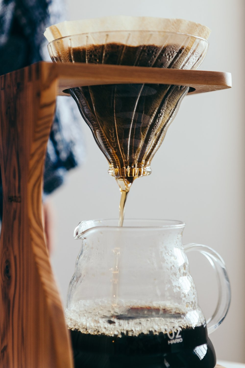 water in coffee